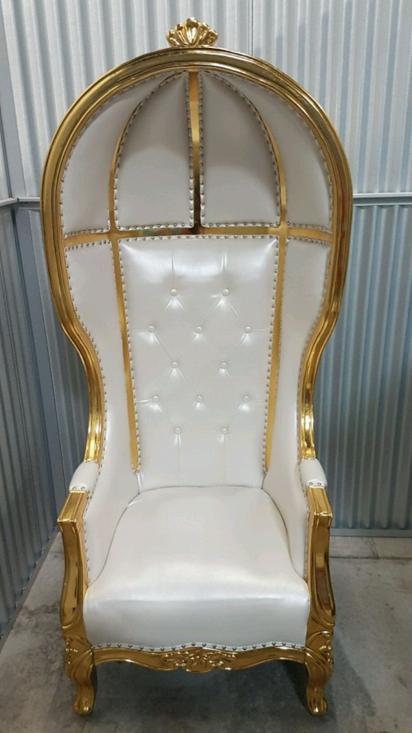 Throne chair RENTAL ONLY!!!!!!!!