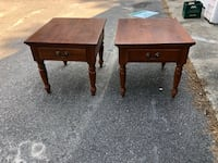 End tables ($40 for one or $65 for both) Duxbury, 02332