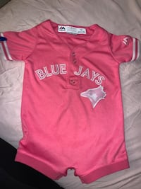 Blue jay pink jersey one piece 12 months Toronto, M3N