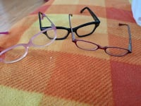 black framed eyeglasses with case Mississauga, L5M 6C5