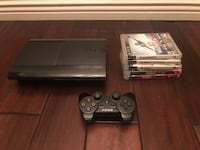 PS3 Bundle includes, PS3 ,Controller, and 5 games no power cord Norwalk