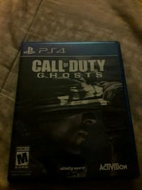 Call of duty ghosts ps4 Nashua, 03060