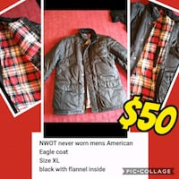 American Eagle mens coat Fairfield, 45014