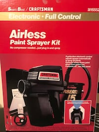 Sears Craftsman Airless Paint Sprayer Kit Piscataway, 08854
