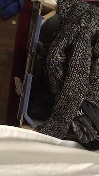 black and gray snakeskin leather long wallet North Potomac, 20878