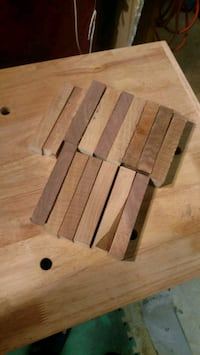 12 Black Walnut Pen Blanks