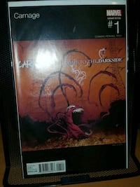#1 Carnage comic book MARVEL Movie