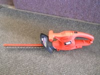 """17"""" hedge trimmer black & decker plug-in electric corded Columbus"""