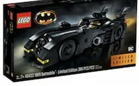 LEGO 1989 Batmobil 76139 Exclusive Brand New with Limited Edition mini  [TL_HIDDEN]  Batmobile 366pcs All Sealed!!!! Mint box. Toronto
