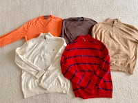 Men's Ralph Lauren sweaters - Size Medium Alexandria, 22301