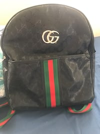 black and green Gucci leather backpack Catonsville, 21228