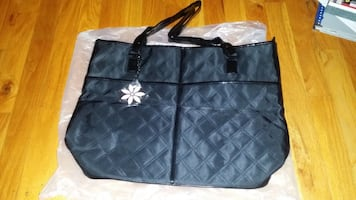 Large Mary Kay Train Carry All Travel Case Bag Tote Handbag