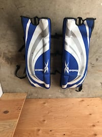 Used Ball hockey equipment( Glove and Blocker gone ) Mississauga, L5V 1C3