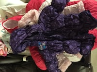 Disney purple coat with mittens that attach 12m Calgary, T2Z 3M6