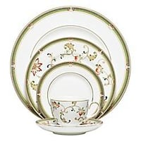Oberon by Wedgwood 5 piece china setting Tacoma