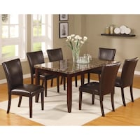 table with 4 chairs dining set North York