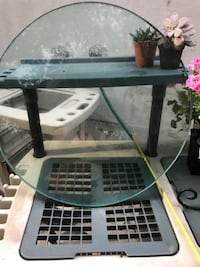 """Glass Table Top 23-3/4"""" round Central Islip, 11722"""