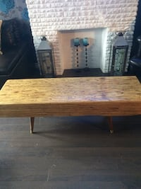 Parallam wood coffee table  Toronto, M6N 4P8