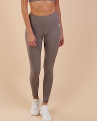 Gymshark Dreamy Cropped Leggings - Slate Grey M null