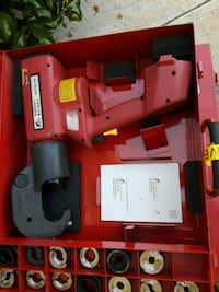 red and black Milwaukee cordless power tool Los Angeles, 91307