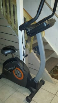 black and gray stationary bike Markham, L3T 5W1