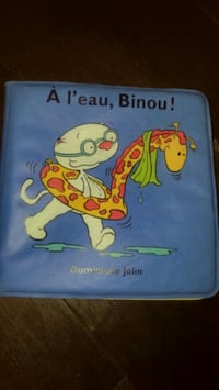 French  book toopie Beeno water repellant