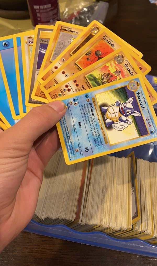 RARE 1990's Pokemon cards! (About 500) bcfdcc63-eca2-447b-88a7-649401fed205