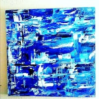Abstract painting 25x25 Bossier City, 71112