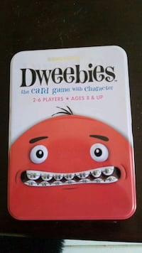 Dweebies the card game with character
