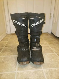 Oneal dirt bike boots size 10 Waldorf