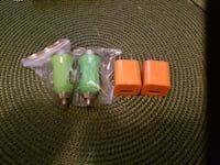 Android and ipod chargers plugs and car chargers