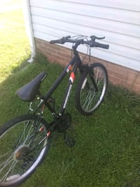 black and red hardtail mountain bike Bessemer City, 28016