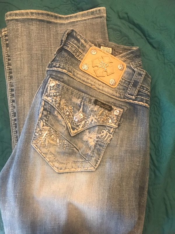 25ff6c4b8b25d Used miss me denim jeans size 26 boot cut EUC!! for sale in Cumming - letgo