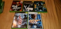 007 xbox og set 5 games Waterloo, N2J 2A2
