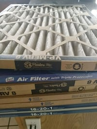 16x20x1 airfilters...8 total