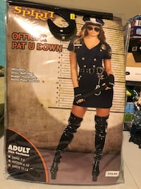 Halloween Women's Police Officer Costume Brant, N3L