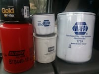 Various oil filters brand new Cameron Park, 95682