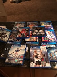 Playstation4 games PS4 gamea Saint Louis, 63146