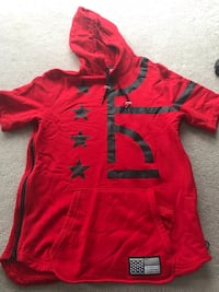 Nike Red and black pull over hoodie Calgary, T2Y 3J9