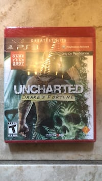 Uncharted drakes fortune PS3 Land O Lakes, 34638