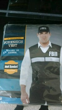 FBII Costume Adult Reston, 20190