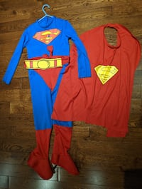Gently Used Child Superman Costume - Size Small 4-6 Vaughan