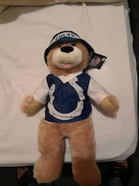 Colts plush..