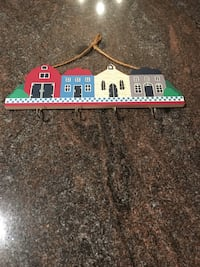 Row of Wooden Homes Hanger. Reduced from 3.00 to $2.00 Easton, 18045