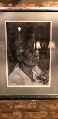 Asian Lady smoking a cigar pic Chicago, 60643