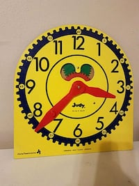 Judy clock, for teaching time North Little Rock, 72116