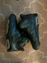 pair of black-and-blue Nike basketball shoes Augusta, 30909