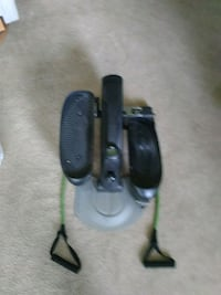 black and green workout motion compact elliptical Middle Island, 11953