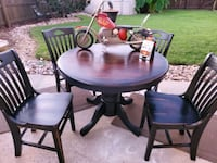 Harley Davidson inspired table and chairs Chesapeake, 23323