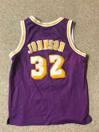 Magic Johnson Lakers Jersey  King, L7B